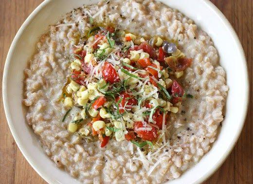 Corn Farrotto | Recipes | Pinterest