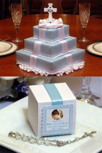 Cake Designs For First Communion : 1st communion cake ideas 1st Communion Pinterest