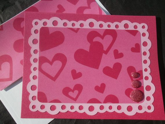 valentine's day heart cut out