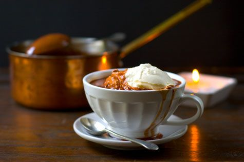 Perfect Hot Chocolate | bevvies | Pinterest