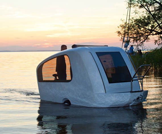 amphibious camper trailer