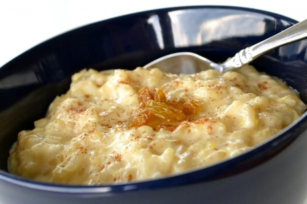 Yummy Creamy Rice Pudding | Recipe