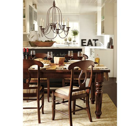 Photo Sumner Pottery Barn Images Salon Blanc Zen Banks Reclaimed - Pottery barn sumner dining table