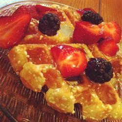 Liege Belgian Waffles with Pearl Sugar | Breakfast | Pinterest