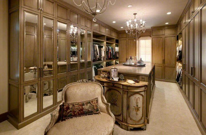 attic room wardrobe ideas - Luxury Closet Closets