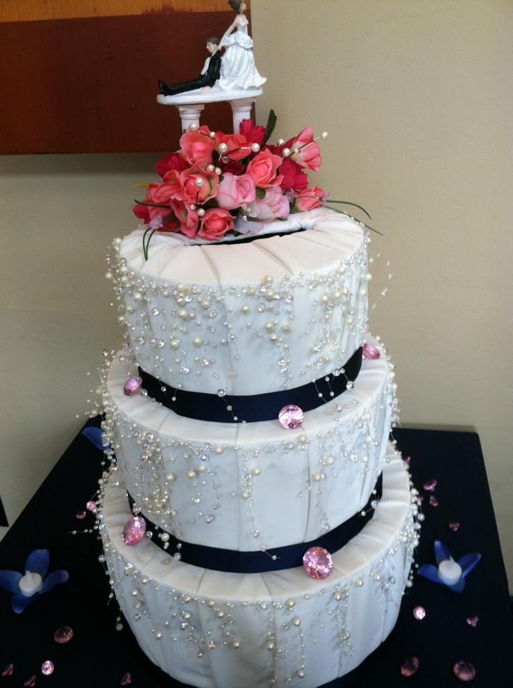 Wedding Cake Gift Card Holder Weddings Pinterest