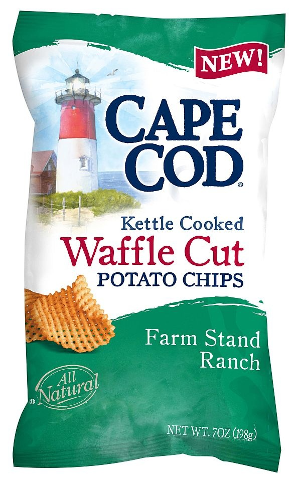Cape Cod - Waffle Cut Potato chips...totally touring the factory on ...