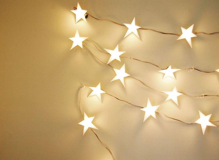 Star Light Star Bright Light Garland I Love Christmas! Pinterest