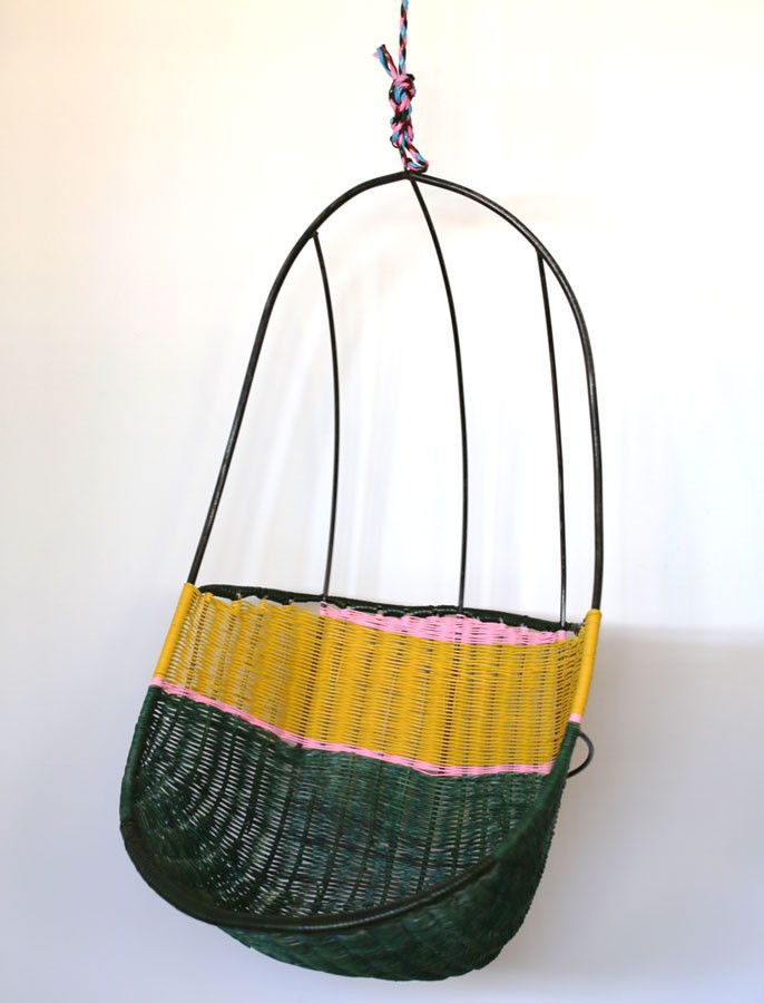 Hanging Basket Chair by Martino Gamper