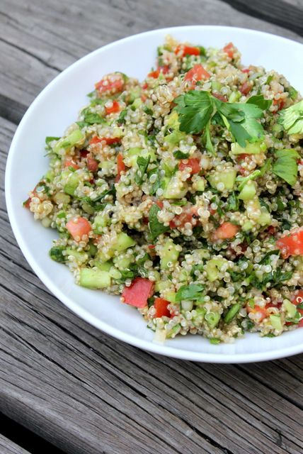 quinoa tabbouleh | Recipes To Try | Pinterest