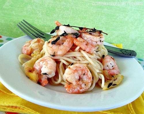 ROASTED LEMON GARLIC SHRIMP   recipes to try   Pinterest