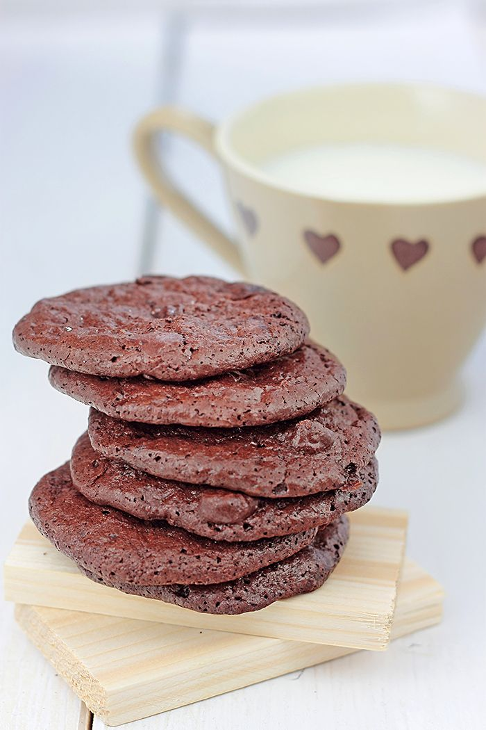 Chocolate puddle cookies | Desserts & Drinks | Pinterest