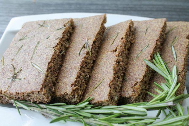 Rosemary Flax Focaccia Bread – Gluten Free   Recipe