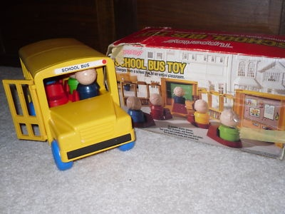Tupperware school bus