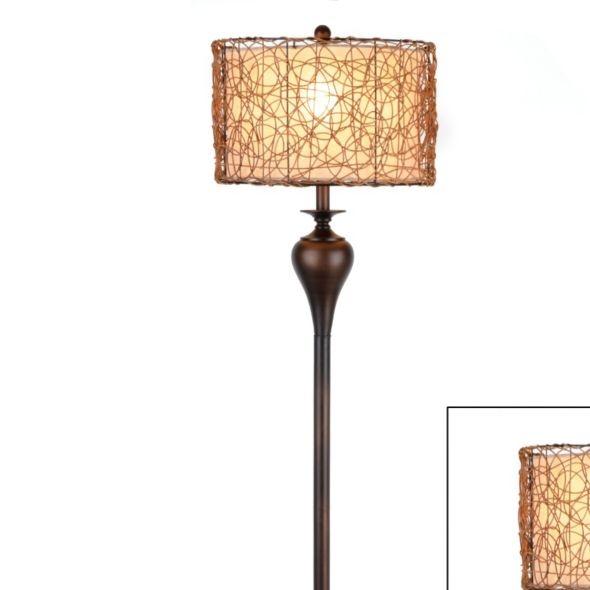 Kirkland Home Floor Lamps : Rattan Shade Floor Lamp At Kirkland S Living  Room