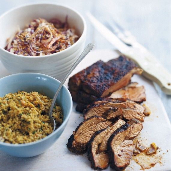 Moroccan spiced leg of lamb - Woman And Home
