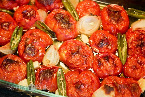 Easy Roasted Tomato Salsa | Recipe