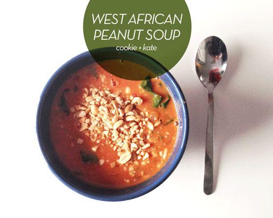 West African Peanut Soup | FOOD & DRINK | Pinterest