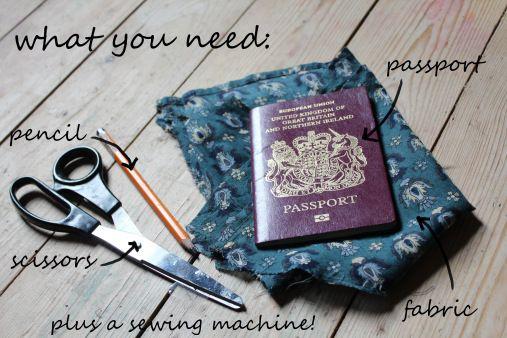How to make passport photo template