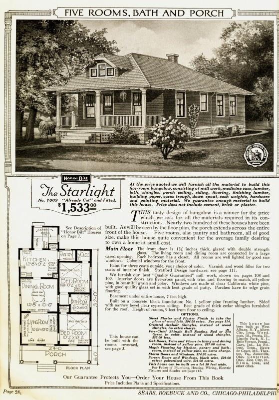 Starlight Sears Kit House Homes Pinterest