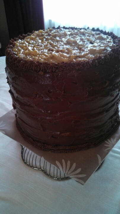 layer German Chocolate Cake. 7 inches tall & 9 inches round! Other ...