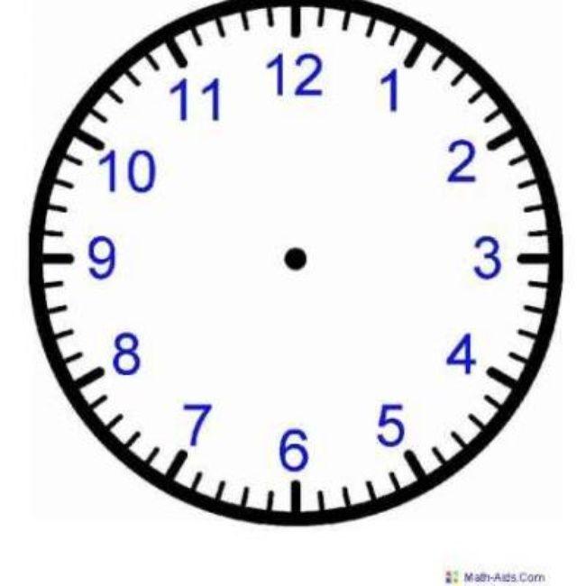 Printable Clock Worksheets | School | Pinterest