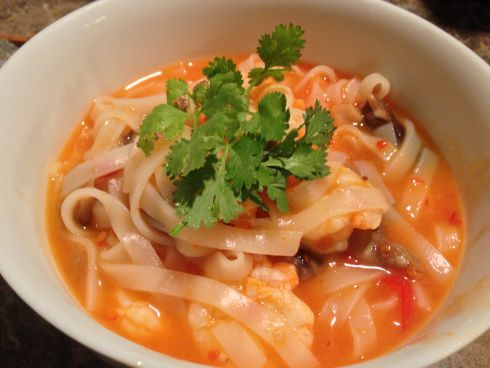 Tom Yum Noodle Soup   Recipes to remember   Pinterest