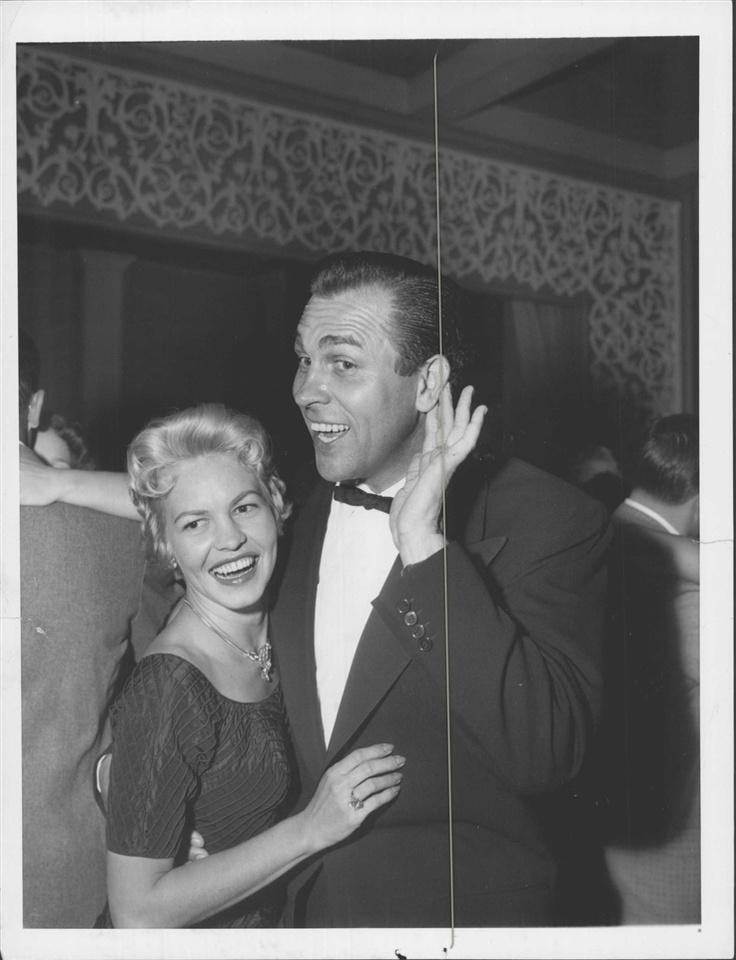 Howard Keel & wife...
