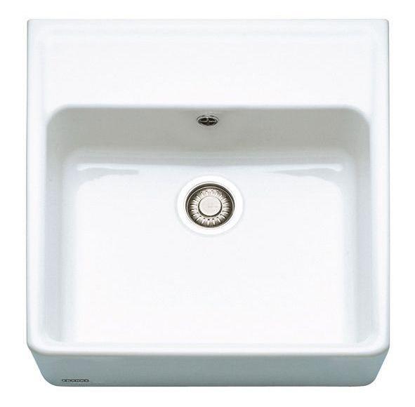 Franke Belfast Sink : Franke Belfast VBK 710-60 Ceramic White Kitchen Sink ?330