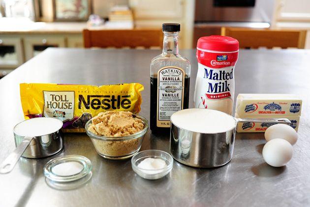 Malted Milk Chocolate Chip Cookies   Recipe