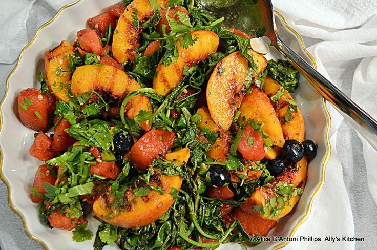 ... Iron Skillet Grilled Fruit Salad | OOH!MAZING SALADS & DRESSINGS