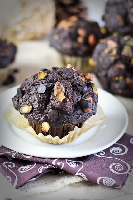 Pumpkin Zucchini Chocolate Muffins   Recipe