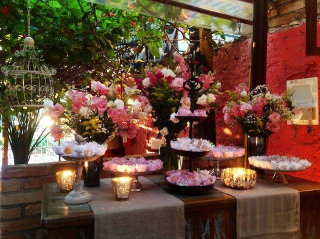 decoracao festa quintal:Mesa de Doces Foto: Restaurante Quintal