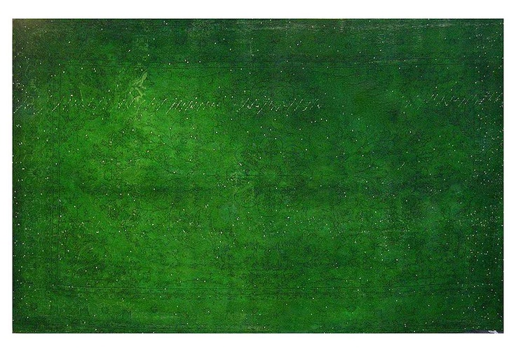 11x7 Emerald Overdyed Rug