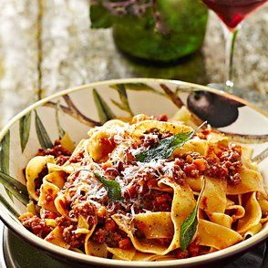 Pappardelle with Bolognese Sauce | Substance | Pinterest
