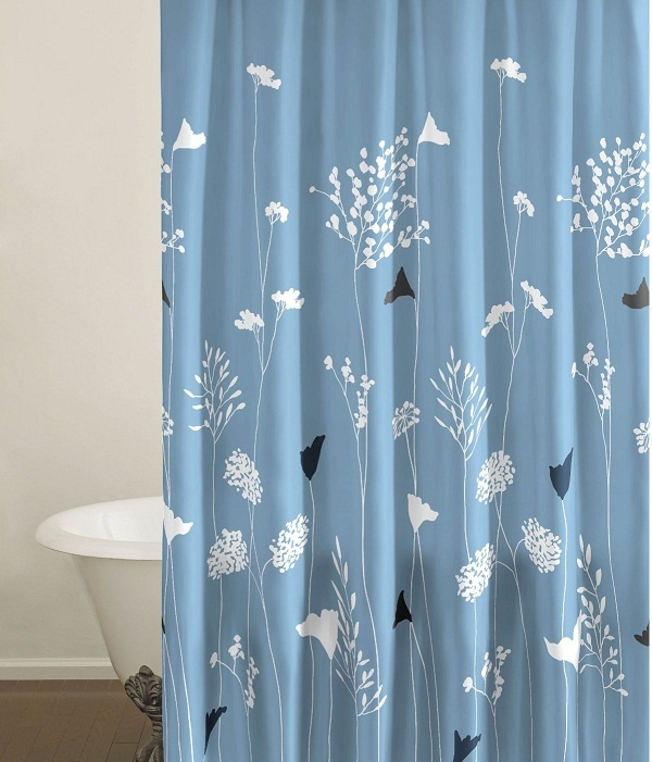 Arts And Crafts Shower Curtain Vintage Inspired Shower Curtain
