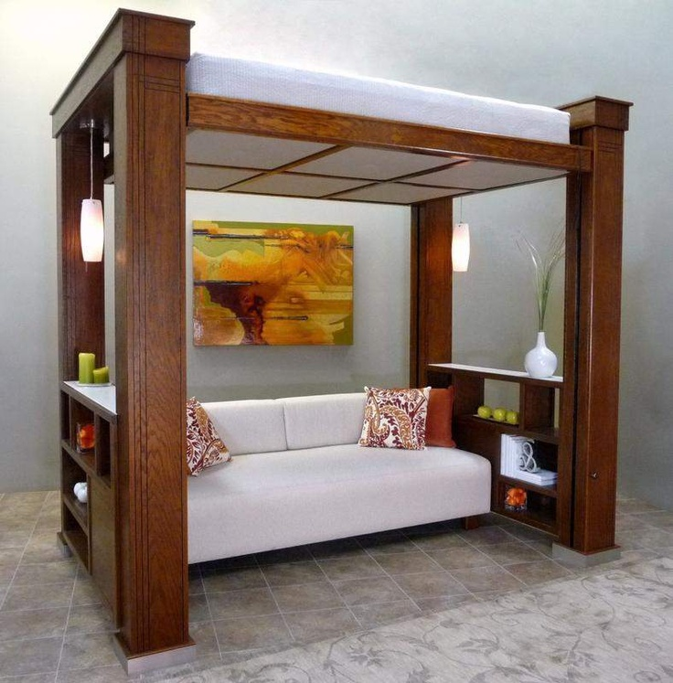 Small Spaces For Beds Think Murphy Small Space Design Pinterest