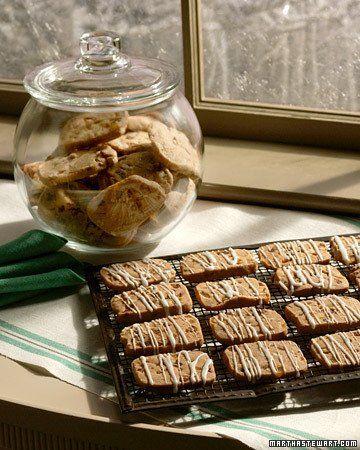Fruit and Nut Refrigerator Cookies - Martha Stewart Recipes