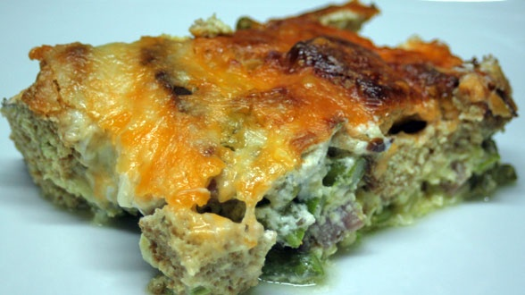 Ham and Cheese Strata | food | Pinterest