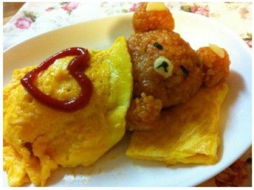 breakfast teddy bear...yummy!!!