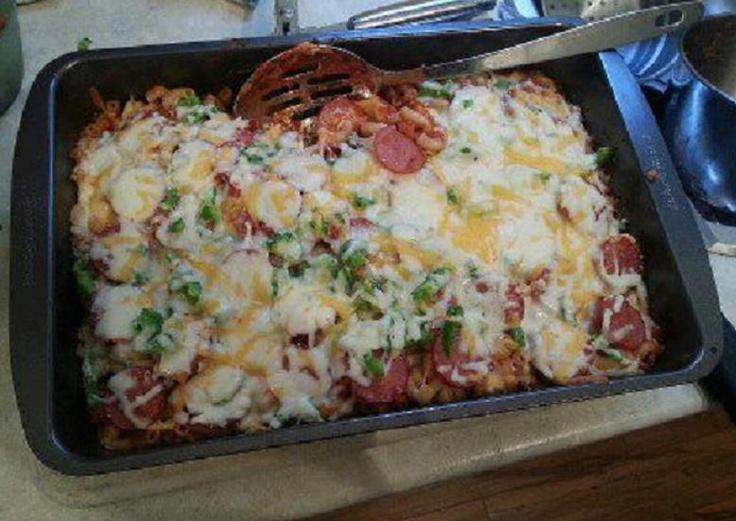 Baked Bow-Tie Pasta With Mozzarella Recipe — Dishmaps