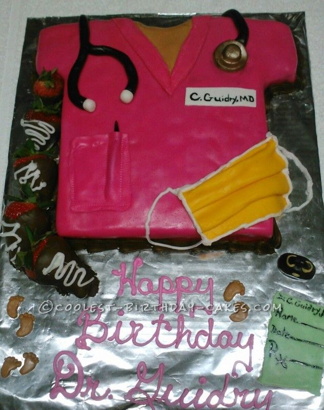 Cake Designs Website : Coolest Birthday Cake for Gynecologist