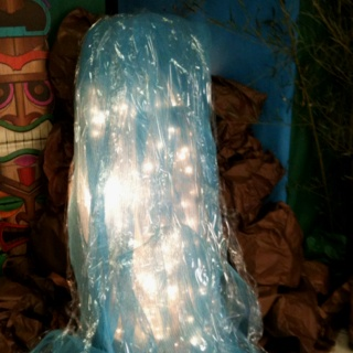Waterfall Decoration For Our Hawaii Themed Family Night At