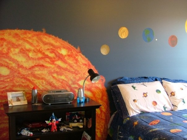 Comhanging Solar System For Kids Room : Comhanging Solar System For Kids Room : Solar System Room