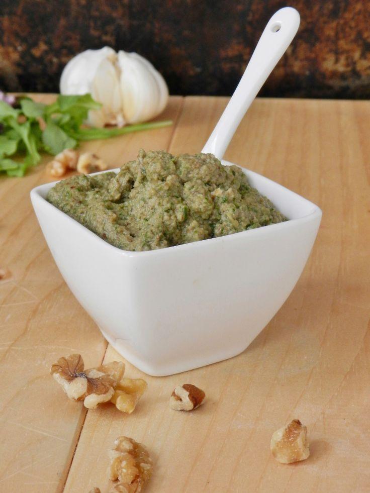 Sage And Walnut Pesto Recipe — Dishmaps