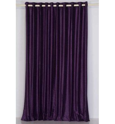 Purple Velvet Curtains For The Home Pinterest