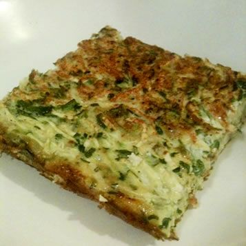 Crustless Quiche with Summer Squash | Easy Food Processor Recipes | P ...