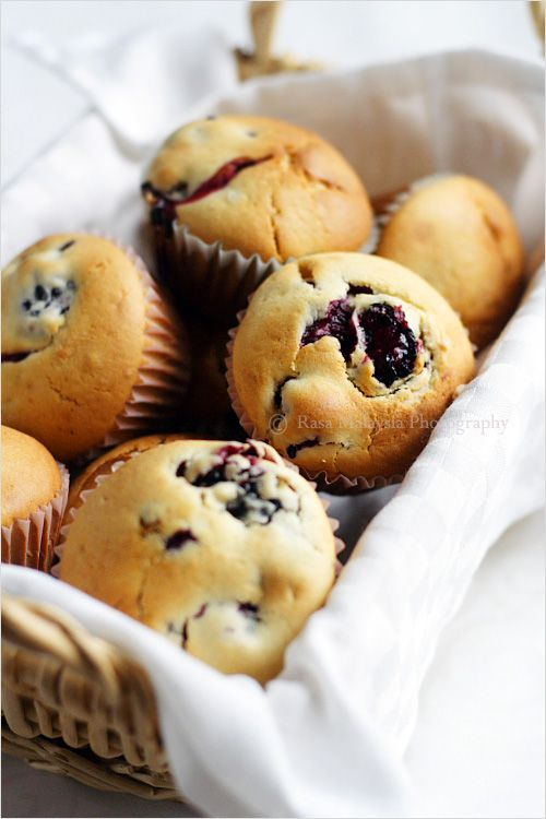 Blackberry Muffins - made these last night and they turned out great ...