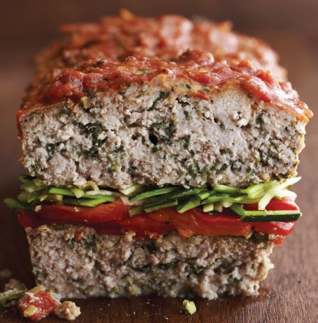 Turkey Spinach Meatloaf (Slow Cooker) | Foodie Savant | Pinterest