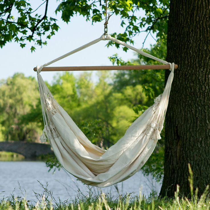 Hanging Hammock Chair in Outdoor Living FURNITURE + ACCENTS Beach ...